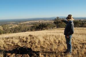 pozemky australských farmářů